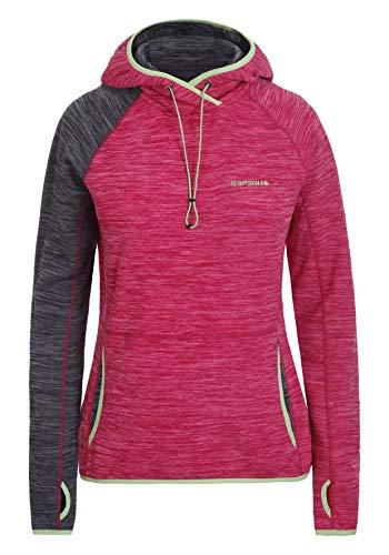 Icepeak Damen Pullover Deming Pink Grau (S)