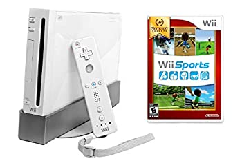 Nintendo Wii Console with Wii Sports  Renewed