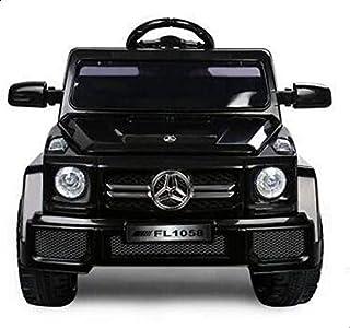 سيارة مرسيدس جيب كهربائي للأطفال , اسود