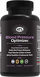 Blood Pressure Optimizer by Dr Sam Robbins   Supports Healthy Blood Pressure, Blood Vessel, Arterial Health, Relaxation, D...