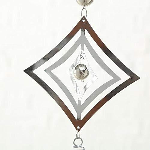 Girlande Windspiel Metall silber 1812-6024600 - 6