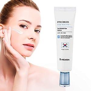 Crema Contorno de Ojos Antiarrugas Mujer - Cosmetica Coreana de Alta Calidad - Crema Antiojeras Mujer Dr Hedison 30 ml - Producto Premium - Crema Contorno Ojos Antiedad Reafirmante - Anti Bolsas Mujer