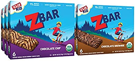 CLIF KID ZBAR - Organic Granola Bars - Value Pack - Non-GMO - Organic - Lunch Box Snacks (1.27 Ounce Energy Bars, 36 Count)