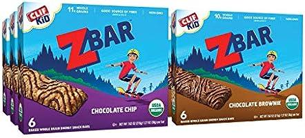 CLIF KID ZBAR - Organic Granola Bars - Value Pack - Non-GMO - Organic - Lunch Box Snacks (1.27 Ounce Energy Bars, 36 Count)