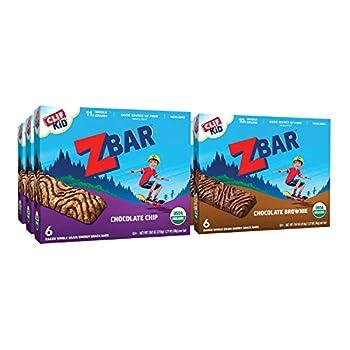 CLIF KID ZBAR - Organic Granola Bars - Value Pack - Non-GMO - Organic -Lunch Box Snacks  1.27 Ounce Energy Bars 36 Count