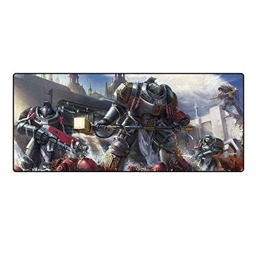 Alfombrilla de Ratón Teclado del juego alfombrilla de ratón grande alfombrillas de ratones antigua batalla de la fantasía de Warhammer 40K estera del juego de Cafe Extended Mat Alfombrilla de ordenado