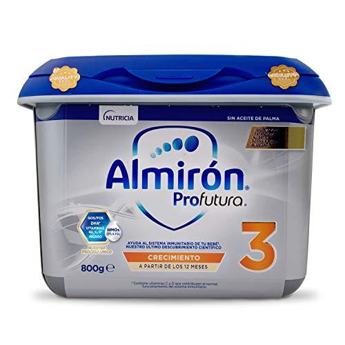 Almirón Profutura 3 Leche de Crecimiento en Polvo para Bebé, desde los 12 Meses, 800g