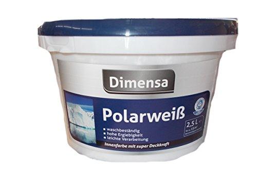Dimensa Polarweiß, 2,5 Liter