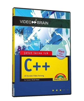 Video2brain JLI C++ Video-Training. DVD. 10 Stunden Video-Training