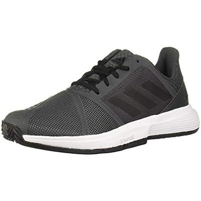 Adidas CourtJam Bounce M Clay, Zapatos de Tenis Hombre, Grey Six/Core Black/FTWR White, 41 1/3 EU