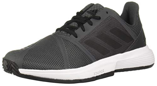 Adidas CourtJam Bounce M Clay, Zapatos de Tenis Hombre, Grey Six/Core Black/FTWR White, 41 1/3 EU