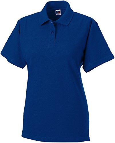 Russel Europe Ladies Classic Cotton Damen Polo Shirt, Größe:XL, Farbe:Bright Royal