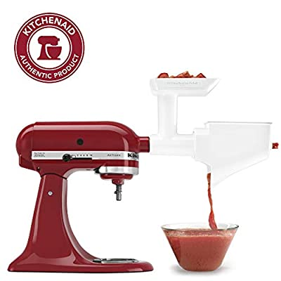 KitchenAid FVSFGA Fruit & Vegetable Strainer Set with Food Grinder Attachment