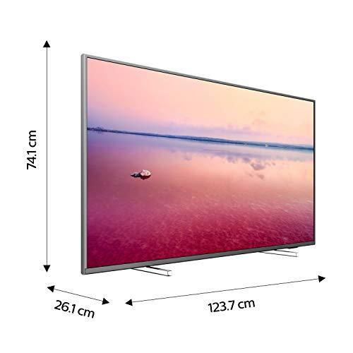 Téléviseur LED Ultra HD 4K 139 cm Philips 55PUS6754 TV LED 4K 55 pouces TV connecté / Smart TV Netflix Tuner TNT terrestre / satellite Enregistrement PVR (sur USB) Prise casque Son 20 W