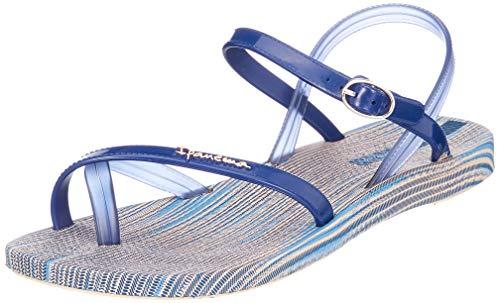 Ipanema Damen Fashion Sand VI FEM Slingback Sandalen, Mehrfarbig (Beige/Blue 8009), 40 EU