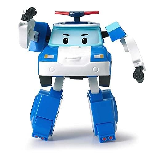 Robocar Poli 83171, Color Poli Robot transformable(Toy Partner Academy