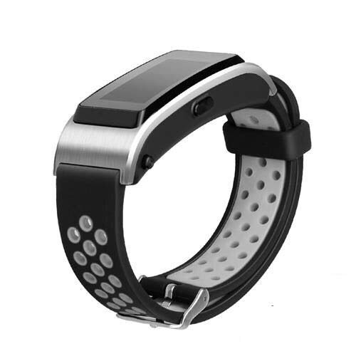 CRFYJ Correa de Pulsera Pulsera Banda de Reloj para Huawei Talkband B2 B3 B5 B6 Pulsera Deportiva SmartWatch 15mm 16mm 18mm De
