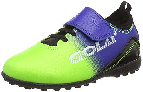 Gola Apex 2 Vx Qf, Botas de fútbol para Niños, Verde (Lime
