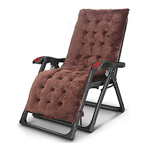 n.g. Wohnzimmerzubehör Sonnenliege Faltbarer Liegestuhl Mit Becher Und Handyhalter Lendenkissen Schwerelosigkeitsstühle Textilene Stoff
