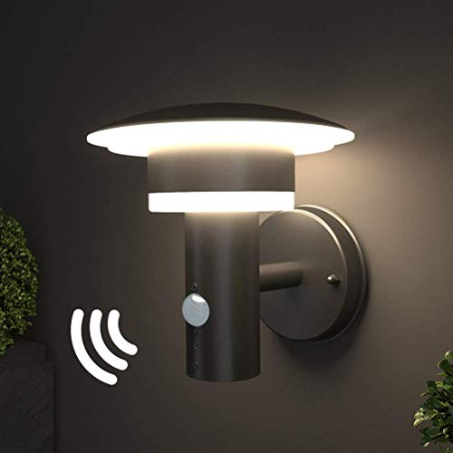NBHANYUAN Lighting LED Outdoor Wall Light Fixtures with Motion Sensor...