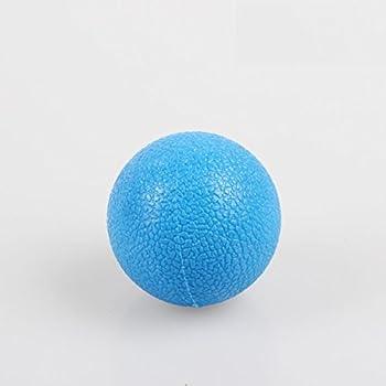 Shape Up UPnShape Mini Massage Ball 1.8inch /Stretching Yoga Fitness Rehabilitation backpain neck  blue