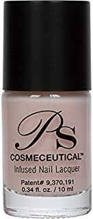 PS Polish All Natural Nail Polish, NUDE COLLECTION Non-Toxic Professional Grade Nail Art and Polish Nail Lacquer, Beige Nail Polishes for Manicure, Pedicure, Hands, Feet - MSRP $14.99 … (Barely There)