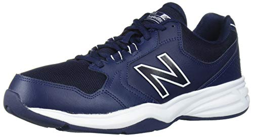 New Balance Men's 411 V1 Walking Shoe, Pigment/White, 10.5
