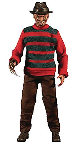 Mezco One: 12 Collective: A Nightmare On Elm Street: Freddy Krueger Action Figure, Multicolor