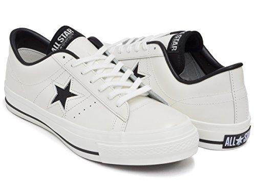 [コンバース] ONE STAR J [ワンスター メイド イン ジャパン 日本製] WHITE/BLACK 32346510 26.0(7H) US
