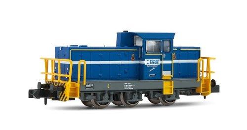 Arnold HN2078 - Rangierlokomotive Henschel DHG 700C, Werkslok Donau Chemie, mit...
