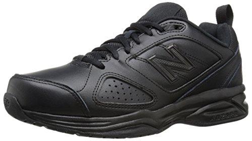 New Balance Women's 623 V3 Casual Comfort Cross Trainer, Black, 9 Wide