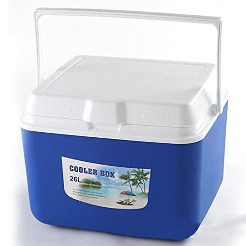 Kühlbox Camping Isolierbox 26L Thermobox mit Griff Campingbox Picknick Kühlbehälter Auto Boot Eisbox Wohnmobil LKW Warmhaltebox Grillparty Coolbox Mini-Kühlschrank bis zu 8-48 Stunden Kühlung