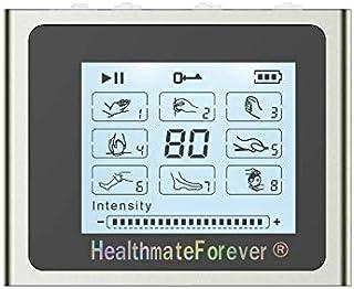 HealthmateForever Ts8 8 modos electroestimulacion Digital masajeador eléctrico accionado por batería recargable de litio pantalla táctil masajeador