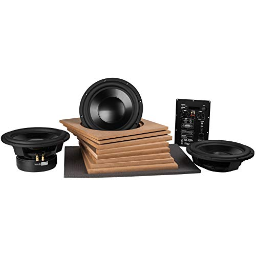 Best Buy! Parts Express Powered Dayton Audio Reference 12″ Subwoofer Kit with Dual Passive Radiators & 500 Watt DSP Plate Amp