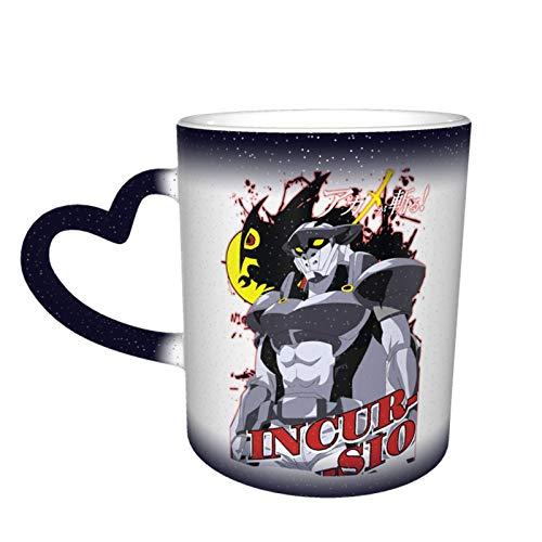 IHHASD Taza de café Akame ga Kill Bulat Magic que cambia el calor