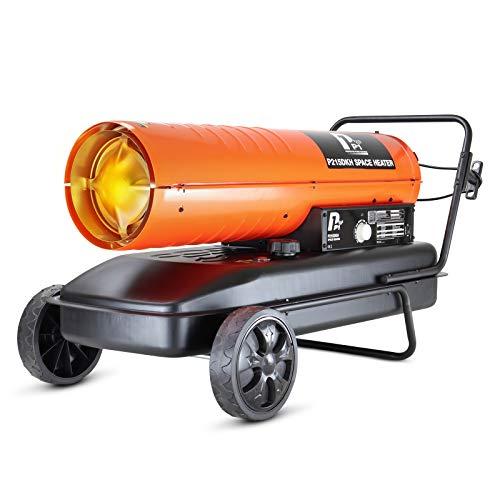 P1PE P215DKH Diesel/Kerosene Space 215,000BTU/hr (51.3kW) Heater by P1...