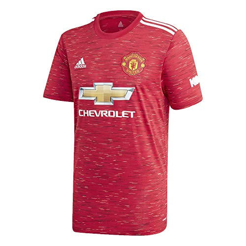 Manchester United Home Youth Soccer Jersey- 2020/21 (Youth Medium) Red