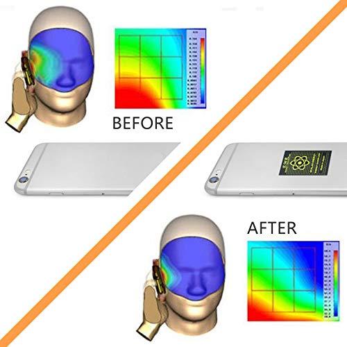 EMF Protection Anti Radiation Shield Sticker for Cellphone,Smart Phone, Laptop - EMF Neutralizer, 8pcs