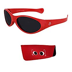 small Children's Sunglasses – 100% UV protection Baby and toddler sunglasses, colored lenses reduce glare …