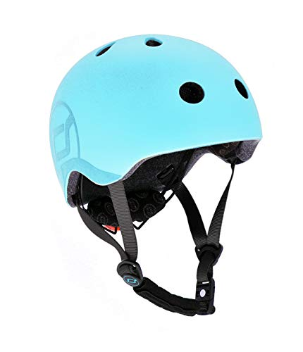 Scoot & Ride Kinder Fahrradhelm, Blueberry, 51 bis 55cm
