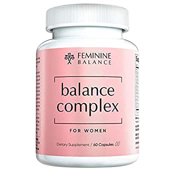 Balance Complex Vaginal Health Dietary Supplement 60 Capsules