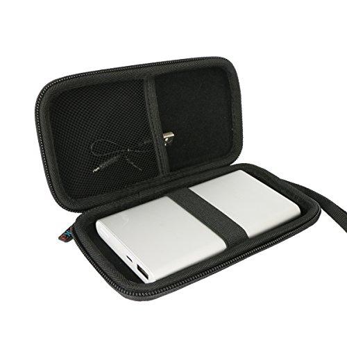 Khanka Eva Custodia Rigida da Viaggio per Xiaomi Mi 10000mAh Banca 2 di potere Caricabatteria portatile