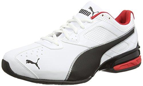 Puma - Tazon 6 FM, Zapatillas de Running Hombre, Blanco (Puma White-Puma Black-Puma Silver 02), 41 EU
