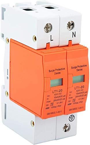 Limitatore di sovratensione 2P, dispositivo di arresto a bassa tensione 10kA-20kA 420vAC