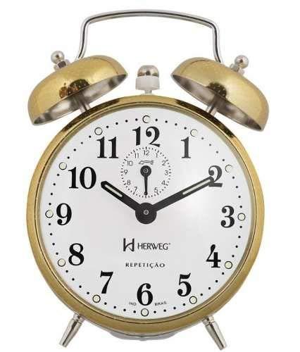 Despertador Mecânico Herweg Ref: 2370-208