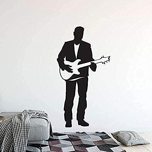 Guitarra Eléctrica Pegatinas De Pared Calcomanías De Vinilo Para Pared Decoración De...