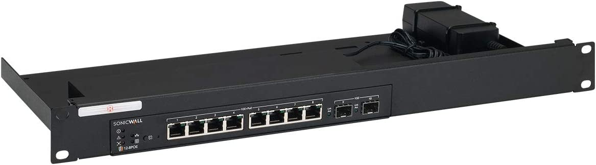 R RACKMOUNT·IT | RM-SW-T8 | Rack Mounting Kit for SonicWall Switch 12-8/12-8 POE