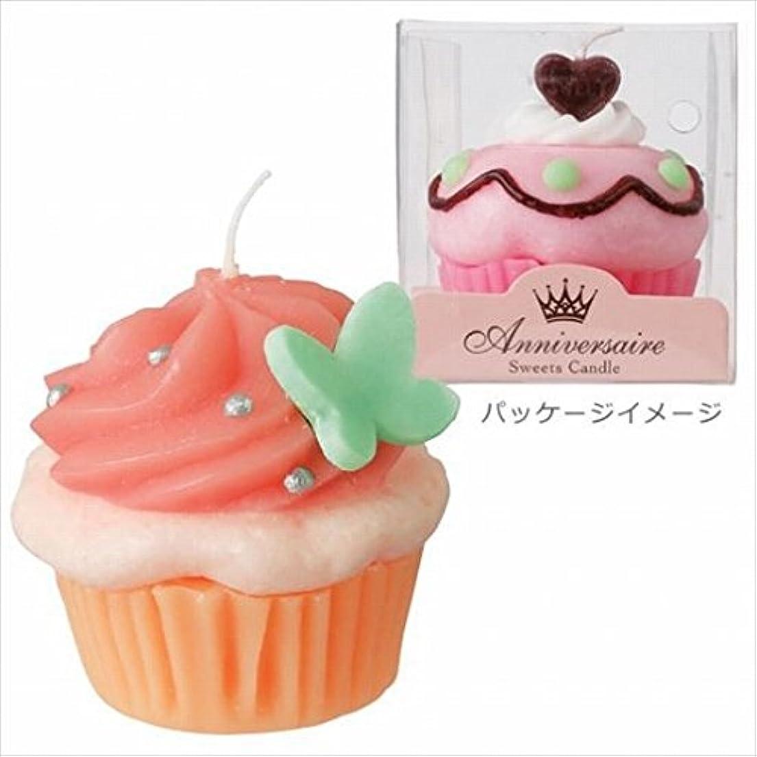 刺激するサイクロプス委任するカメヤマキャンドル( kameyama candle ) カップケーキキャンドル 「 ホイップベリー 」