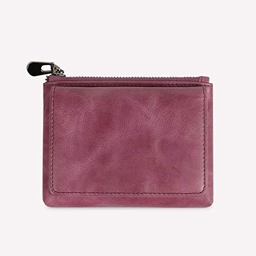 WZV Wallet coin purse female pouch cute card case mini small girl heart coin pouch,purple