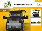 Ram 1500 with wakeboard (Instruction only): Moc Life (English Edition)